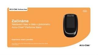Glukometr Accu-Chek® Performa Nano: nastavení data a času