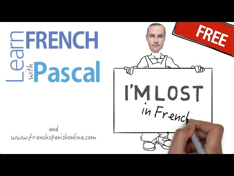how to say i am lost in french