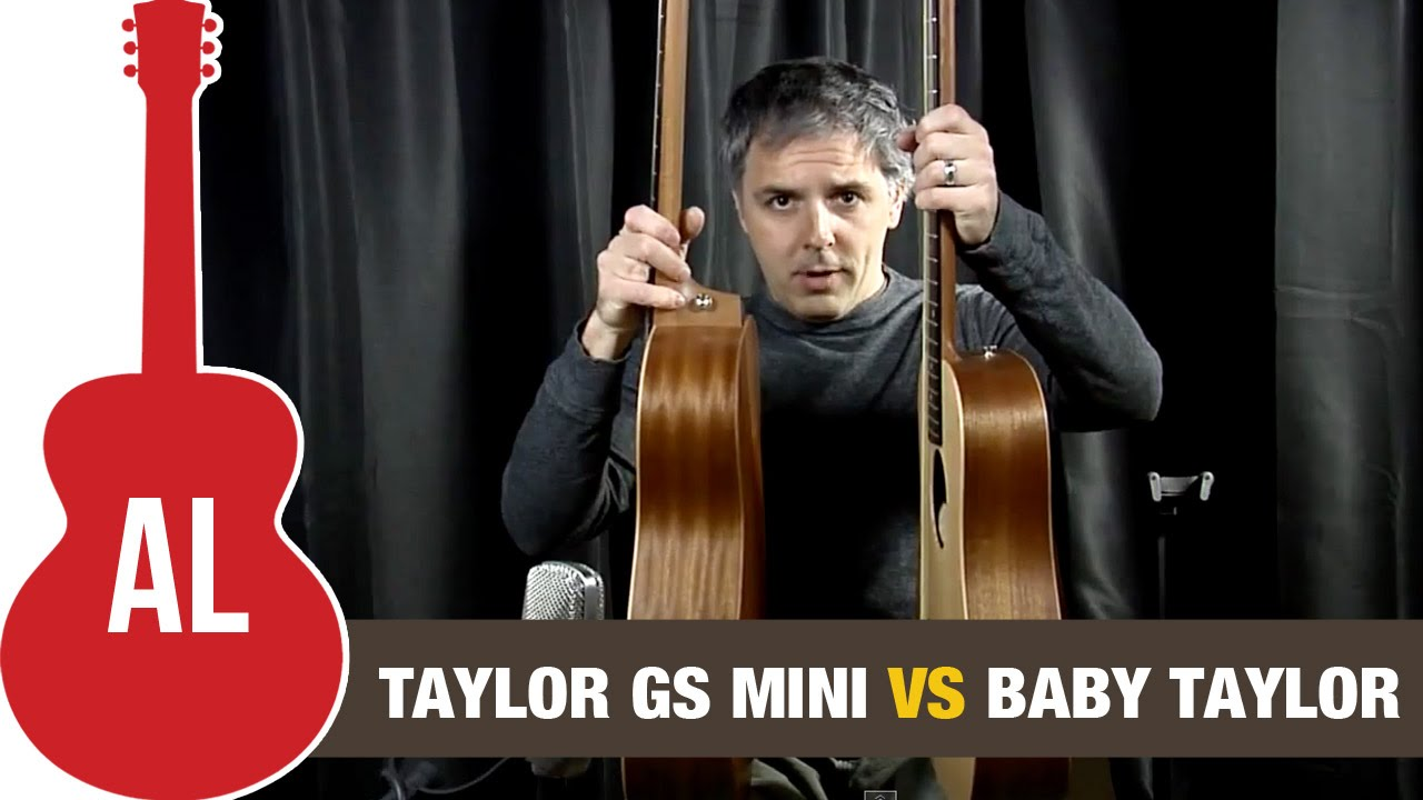 Taylor Gs Mini Acoustic Guitar Vs Baby Taylor Youtube