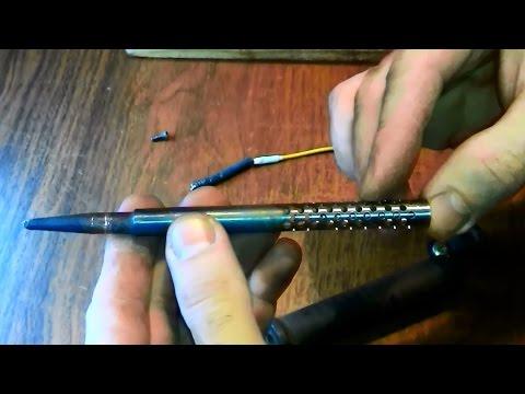 видео: Самодельный беспроводной паяльник