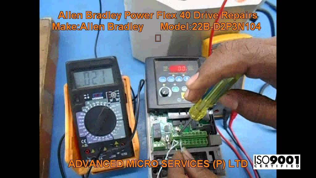 Allen Bradley Power Flex 40 Drive Repairs @ Advanced Micro Services Pvt   Ltd,Bangalore,India
