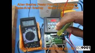 allen bradley power flex 40 drive repairs advanced micro services pvt ltd bangalore india