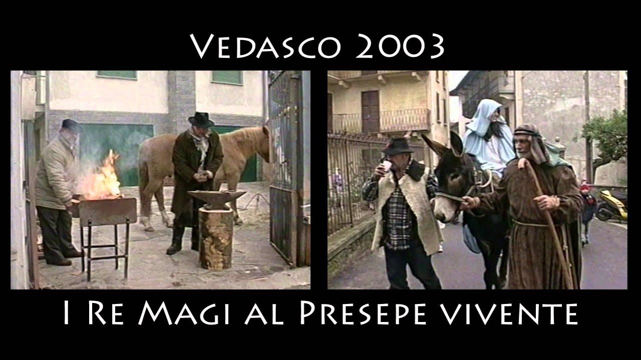 Vedasco 2003 Stresa 2013 I Re Magi al presepe vivente