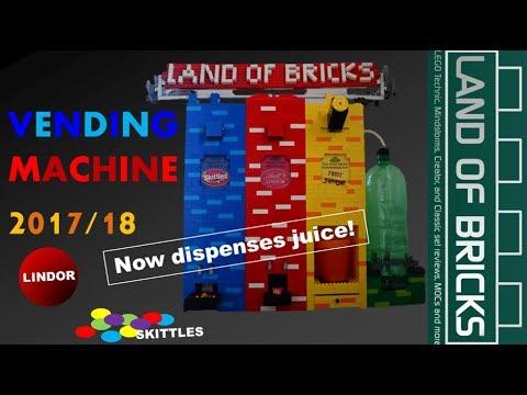 Annual Vending Machine 2017-18 Showcase // Land Of Bricks