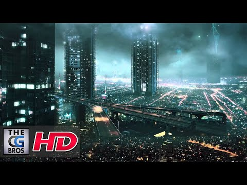 "CGI VFX Breakdowns HD: ""A Futuristic City"" by Marco Iozzi"