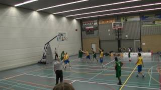 11 february 2017 Rivertrotters U22 vs Cady U22 61-58 4th period
