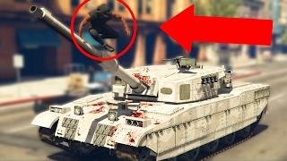 THE ULTIMATE WAY TO TAKE DOWN A TANK...KINDA! *FAIL!* | GTA 5 Online