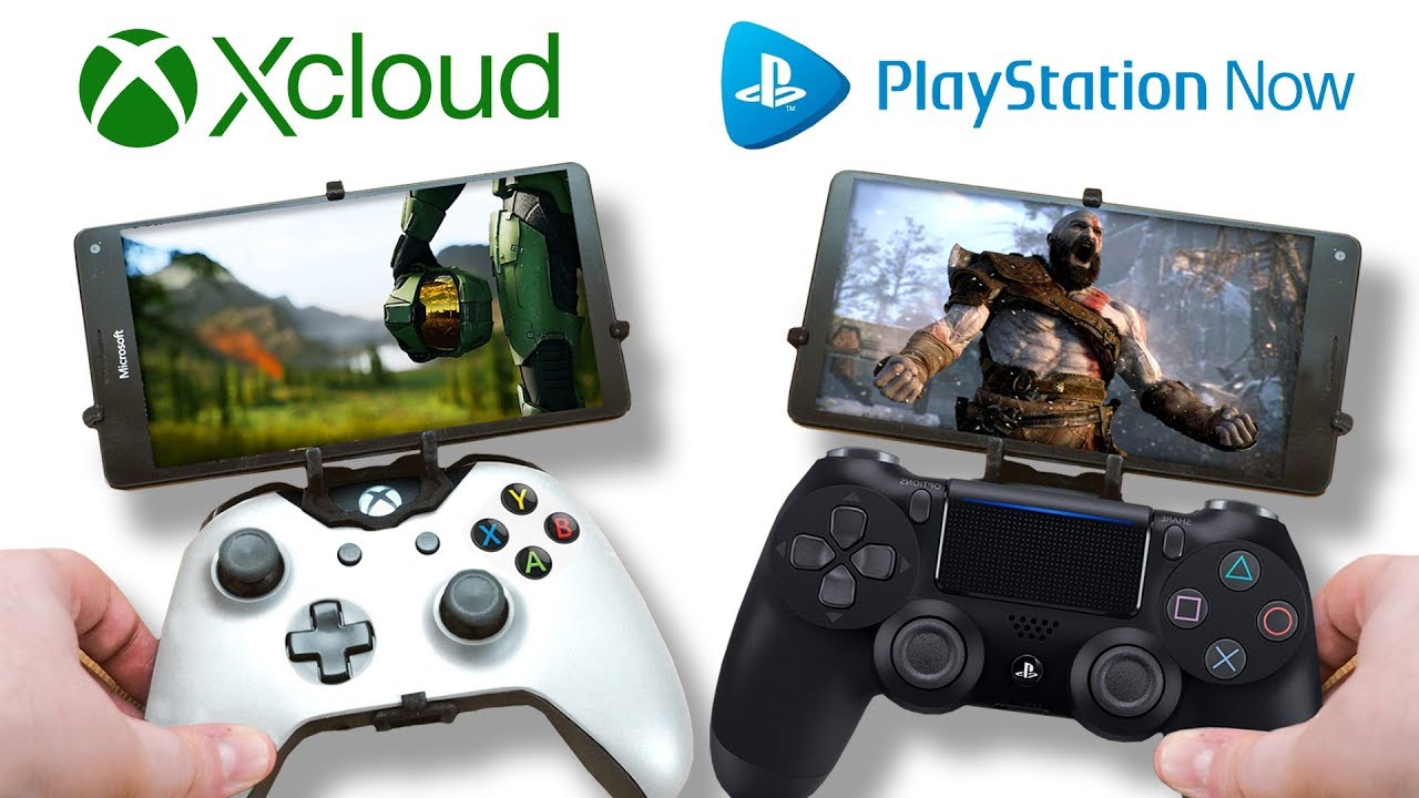 Xcloud e Playstation Now, oltre a Google Stadia