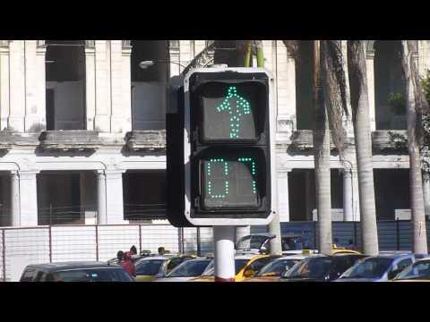 Walking Crosswalk Man
