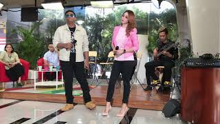Percaya Hati Eka Sharif Projectorband akustik live