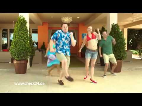 CHECK24 - Everybody dance now! // YT Werbung 2015