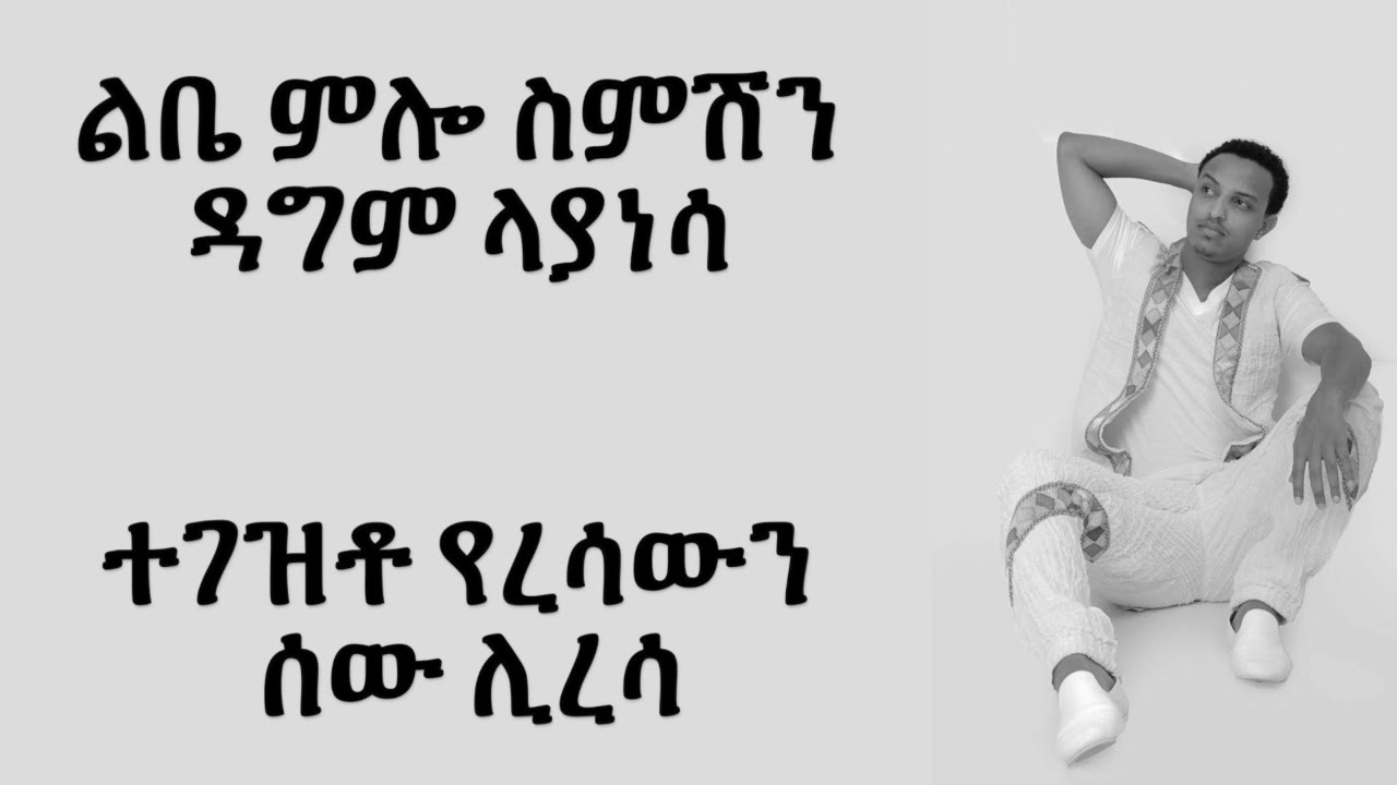 Temesgen Gebregziabher - Ay Lebe አይ ልቤ (Amharic With Lyrics)