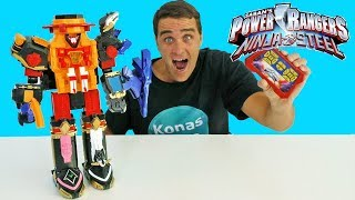 Power Rangers Ninja Steel RC Megazord ! || Toy Review || Konas2002