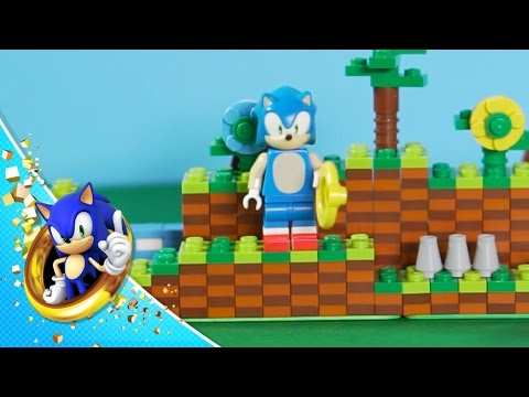Green Hill Lego Construction Montage Youtube