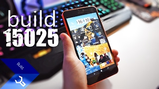 Windows 10 Mobile - Creators Update build 15025