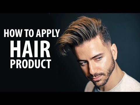 How to Apply Hair Product The RIGHT Way | Hair Tips For Men | Alex Costa