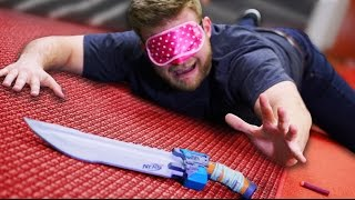 One of Battle Universe's most viewed videos: Nerf Find Your Weapon Challenge!