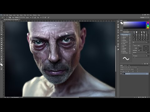 Hyper-Real Digital Speed Painting (Time-lapse) in Photoshop
