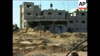 Destruction, aftermath of Israeli bombing