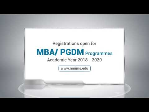 NMIMS MBA PGDM 2018
