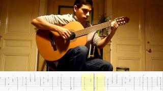 Douce Nuit (Stille Nacht) + TABLATURE guitare