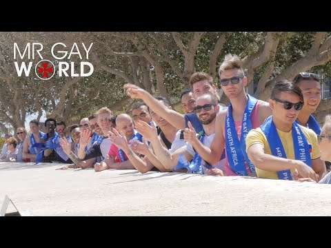 MR GAY WORLD 2016 - Day 02 - Exploring Malta