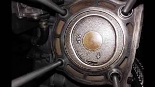 Démontage et montage moteur LEONARDO APRILIA 300 cc engine YAMAHA Dismantling and assembly