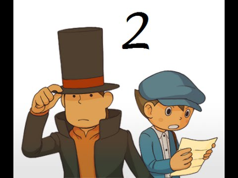 Spiking the Difficulty... Nice- Professor Layton and the Curious Village -- Episode 2