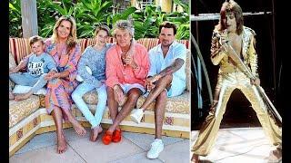 Penny Lancaster reveals husband Rod Stewart is ultra-stric