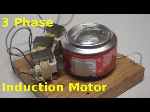 DIY 3 Phase Motor - YouTube