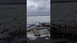 Цаган Аман 28.03.2018 Начало ледохода