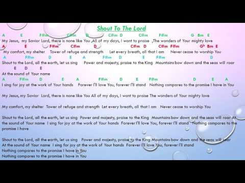 4.6 MB) Shout To The Lord Lyrics And Chords - Free Download MP3