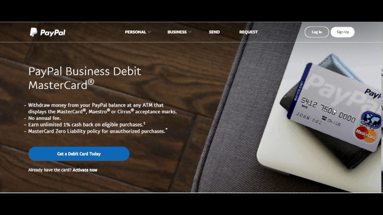 Paypal debit card for your 1 k group youtube paypal debit card for your 1 k group colourmoves