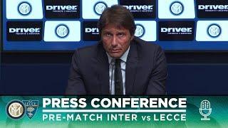 INTER vs LECCE | Antonio Conte Pre-Match Press Conference LIVE 🎙⚫🔵