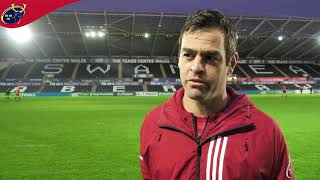 Champions Cup Returns | Munster Captain's Run Pre Ospreys