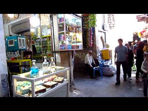 Bazar-E-Vakil in Shiraz | Travel to Iran 2012