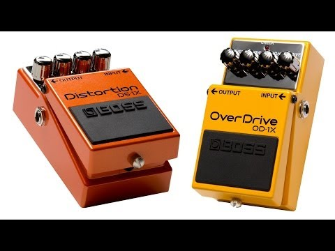 OD-1X Overdrive and DS-1X Distortion Pedal Demo - Sweetwater Guitars and Gear Vol. 63