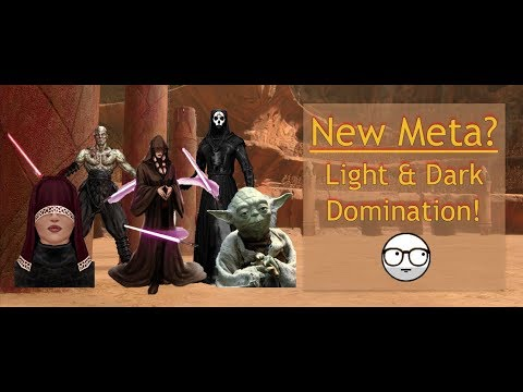 Traya in the Arena: Sith and Jedi Unite to Dominate!