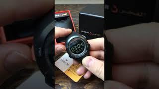 Время намаза. Настройка Alfajr Qibla Compass Часы Альфаждр Кибла Компас WQ18