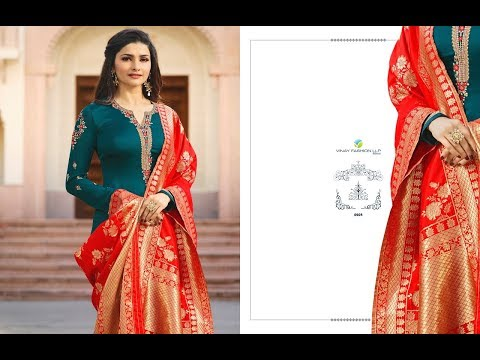 Latest Salwar Suits Indian Collection 2018 || Vinay Fashion || Kaseesh Banaras