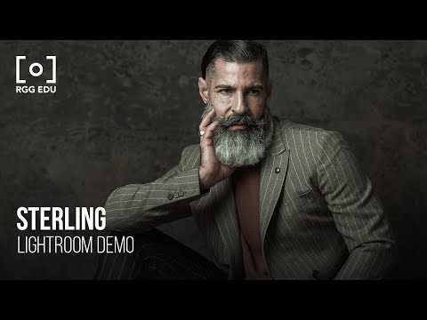 How To Use 3D LUT Profile Sterling In Adobe Lightroom   PRO EDU