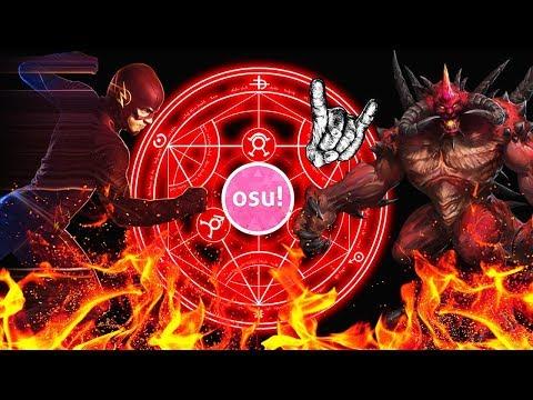 OSU! Адская дрочильня. Дьявольская карта в осу. 5 звезд Insane.