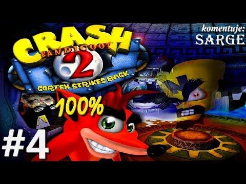 Zagrajmy w Crash Bandicoot 2 (100%) odc. 4 - Niebezpieczne ruiny