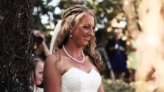 Krista & Damo's wedding highlights