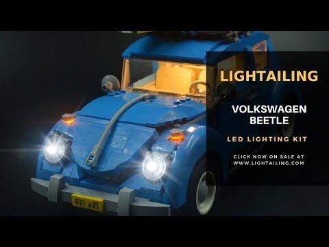 LEGO Volkswagen Beetle 10252 LED Light Kit -Lightailing
