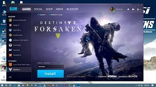 Destiny 2 Installation Blizzard Games for Windows # Games Solutions