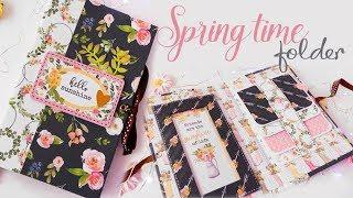 Cartella primaverile Fai da te - DIY Spring Time Folder