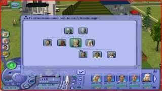 Die Sims 2 - Familienstammbaum Janosch und Tina Wandervogel – (Deutsch)