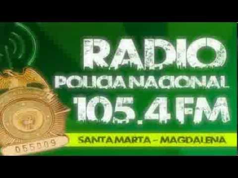 JINGLE RADIO POLICIA NACIONAL 105.4 FM ( SANTA MARTA ) + LETRA // BY @Jselprincipe