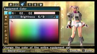 Soul Calibur: Broken Destiny (PSP) PlayStation TV Gameplay
